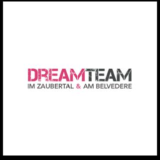 DreamTeam im Zaubertal & am Belvedere Logo